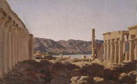 Frederic Leighton The Temple of Philae