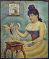 Georges Seurat Young Woman Powdering Herself
