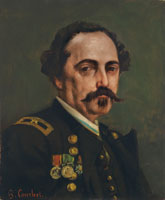 Gustave Courbet - Portrait of General Cluseret