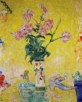 James Ensor Chinese Vase with Japanese Lilies