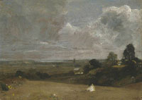 John Constable Dedham from Langham