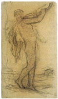 Matthijs Maris Male Nude
