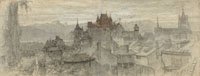 Matthijs Maris View of Lausanne