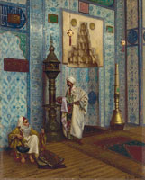 Rudolf Ernst - In the Mosque