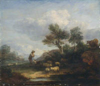 Thomas Gainsborough Landscape with Sheep