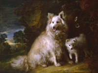 Thomas Gainsborough Pomeranian Bitch and Puppy