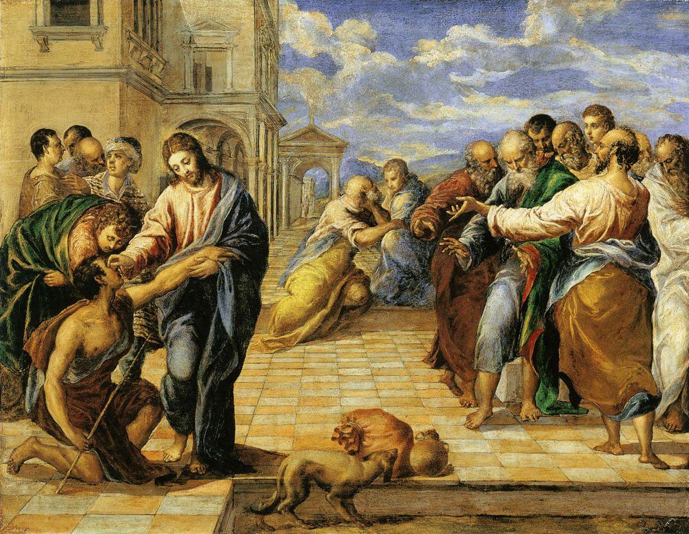 El Greco - Christ Healing the Blind