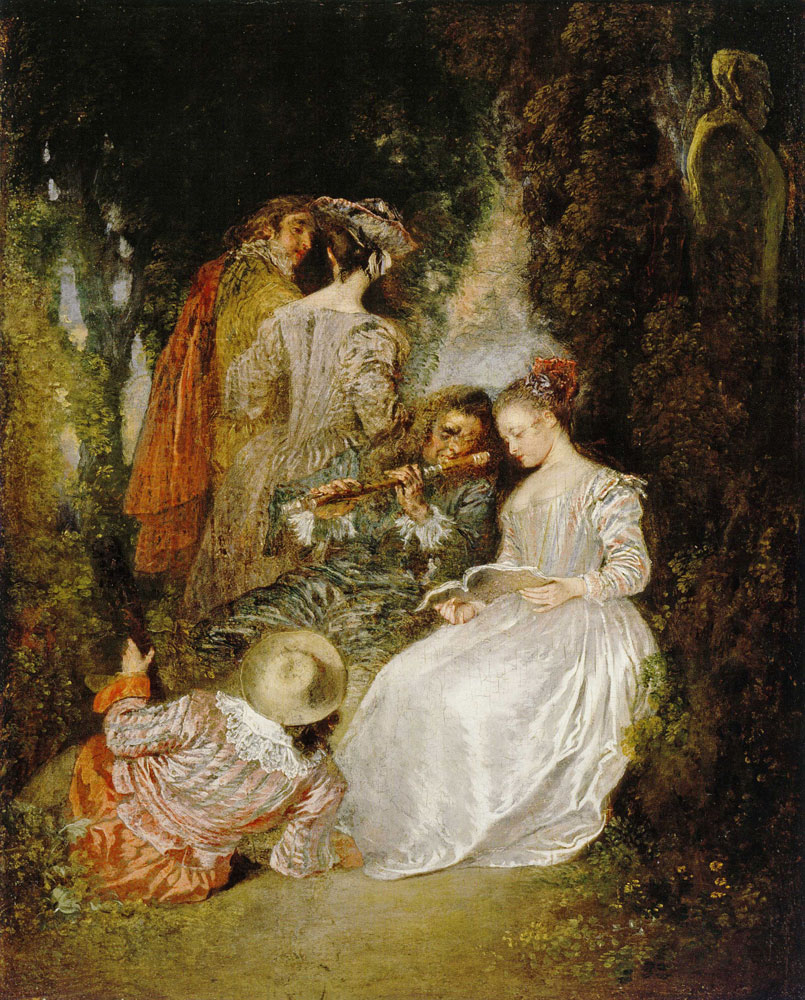 Jean-Antoine Watteau - The Perfect Accord