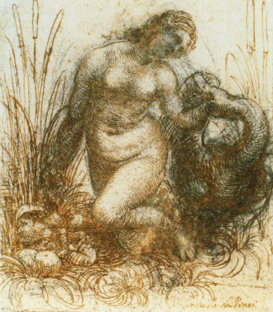 Leonardo da Vinci - Leda and the Swan