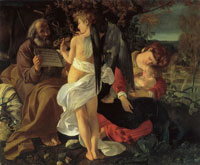 Caravaggio Rest on the Flight to Egypt