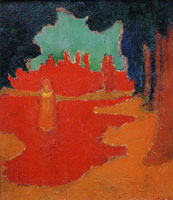 Maurice Denis - Spots of Sunlight on the Terrace