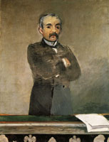Edouard Manet Georges Clemenceau