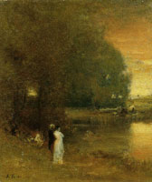 George Inness - Over the River