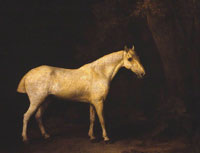George Stubbs Horse in the Shade of a Wood