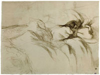 Henri de Toulouse-Lautrec Woman in Bed - Waking