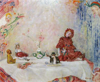 James Ensor Masks and Dolls