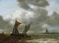Jan van Goyen Seascape near Den Briel