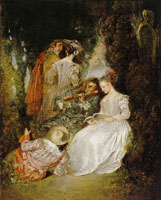 Jean-Antoine Watteau The Perfect Accord