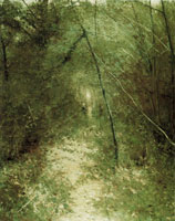Karl Nordström The Forest Glade (Scene from Grez)