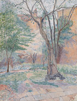 Lucien Pissarro The Nut Tree