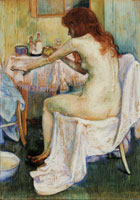 Theo van Rysselberghe After the Bath