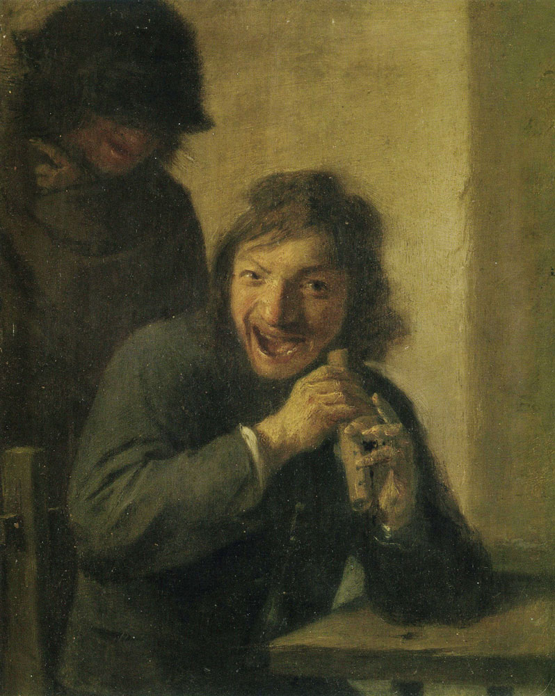Adriaen Brouwer - The Flute Player (Hearing)