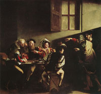 Caravaggio The Calling of St Matthew