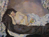 Armand Guillaumin Reclining Nude
