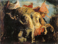 James Ensor Chariot of Victory