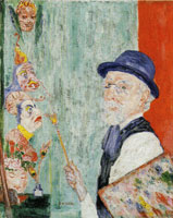 James Ensor My Portrait with Masks