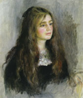 Pierre-Auguste Renoir Portrait of Julie Manet