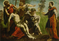 Tintoretto Descent from the Cross