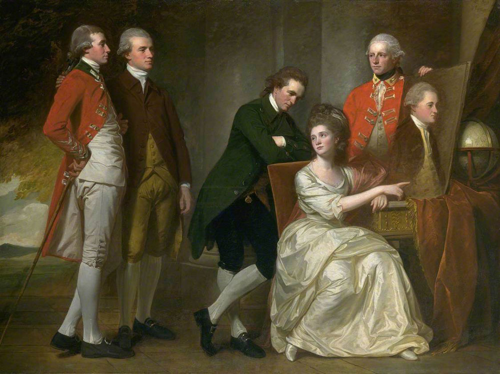 George Romney - The Beaumont Family