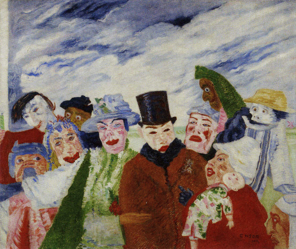 James Ensor - The Intrigue