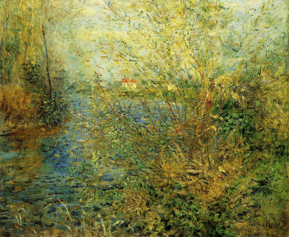 Pierre-Auguste Renoir - The Seine at Argenteuil