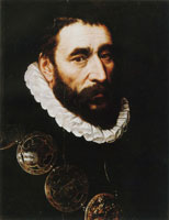 Adriaen Thomasz. Key Bust Portrait of a Prominent Guild Member