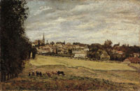 Camille Pissarro View of Marly-le-Roi