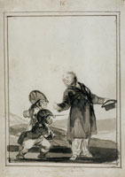 Francisco Goya Contemptuous of the insults