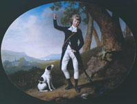 George Stubbs Portrait of a Young Gentleman Out Shooting