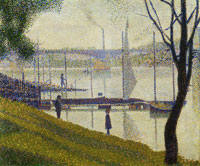 Georges Seurat The Bridge at Courbevoie