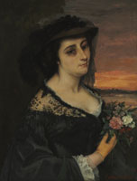Gustave Courbet - Mme L... (Laure Borreau)