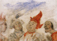 James Ensor Gilles and Sauvage