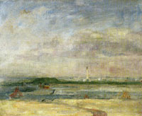 James Ensor The Lighthouse at Ostend