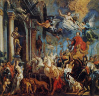 Jacob Jordaens Modello for the Triumph of Frederick Henry