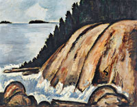 Marsden Hartley - Calm After Storm Off Hurricane Island, Vinal Haven, Maine