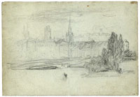 Matthijs Maris - View of Rouen