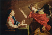 Matthias Stom The Annunciation