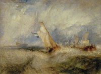 J.M.W. Turner Van Tromp, Going About to Please His Masters