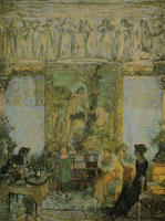 Edouard Vuillard The Library